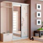 Как правильно установить двухстворчатый шкаф в прихожую ?